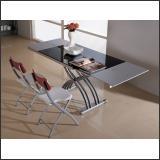 Раскладные столы и складируемые стулья