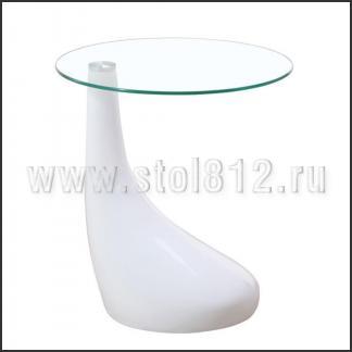 Стол журнальный CT647 (белый)