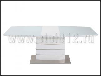 Стол обеденный DT211-1 (белый)
