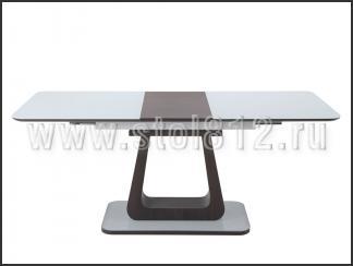 Стол обеденный OKT2144 (венге, стекло белое)