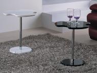 Столы с фигурной столешницей или ножкой