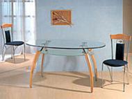 Столы с овальной столешницей