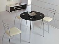 Столы с круглой столешницей
