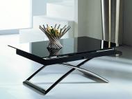Стеклянные столы-трансформеры