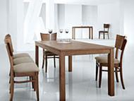 Столы из массива дерева, шпонированные и ламинированные столы