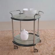 Стол сервировочный V106 (хром, венге Q004)